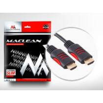 Maclean MCTV-813 HDMI-HDMI cable v1.4 30AWG 3m with ferrite filters