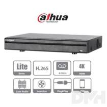 Dahua XVR5116HS-X 16 csatorna/4MP(240fps)/1MP(400fps)/H265+/1x Sata/audio HD analóg rögzítő(XVR)