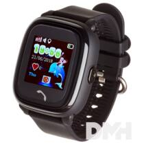 Garett Kids 4 fekete GPS-es okosóra