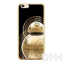 BB 8 005 arany iPhone X/XS TPU szilikon hátlap