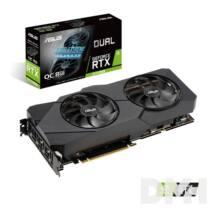 ASUS DUAL-RTX2070S-O8G-EVO nVidia 8GB GDDR6 256bit PCIe videokártya