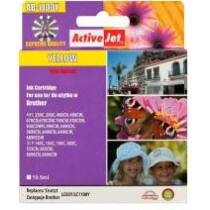 ActiveJet tinta, AB-1100YNX   Yellow   19,5 ml   Brother LC1100Y,LC980Y