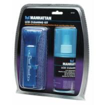 Manhattan LCD tisztító készlet, 200ml tisztító folyadésk/ecset/mikrofiber kendő