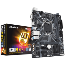 Gigabyte H310M H 2.0, DDR4 2666MHz, PCI-E 3.0 x16