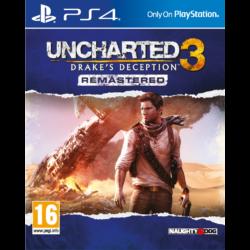 Uncharted 3 Drakes Deception PS4 játékszoftver