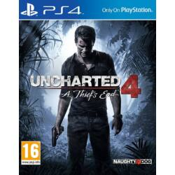 Uncharted 4 Thiefs End PS4 játékszoftver