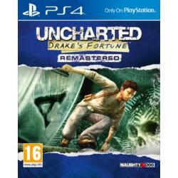 Uncharted Drakes Fortune PS4 játékszoftver