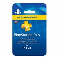 Playstation Plus előfizetés - 90 nap
