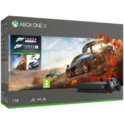 Microsoft Xbox One X 1TB + Forza Horizon 4 + Forza Motorsport 7 Játékkonzol