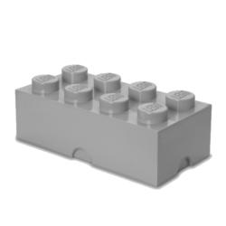 LEGO Storeage Brick 8 -  Szürke (40041740) tároló blokk