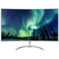 Philips BDM4037UW LED, Ívelt, 4K Ultra HD Monitor