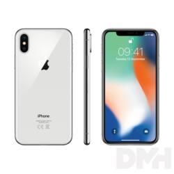 Apple iPhone X 64GB silver (ezüst)