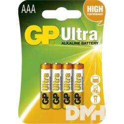 GP B1911 Ultra alkáli  AAA (LR03) mikro ceruza elem 4db/bliszter