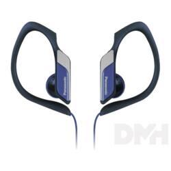 Panasonic RP-HS34E-A 3.5mm jack kék-fekete clip on fülhallgató
