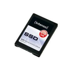 Intenso Top SSD, 512GB Sata3, 2.5''  (olvasás: 520MB/s; írás: 300MB/s)