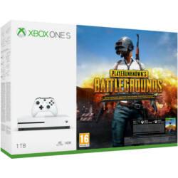 Microsoft Xbox One S (Slim) 1TB + Playerunknown's Battlegrounds + Gears of War ultimate + Halo 5 Játékkonzol