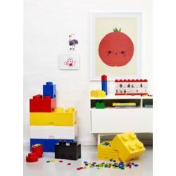 LEGO Storeage Brick 4 - Piros (40031730) tároló blokk
