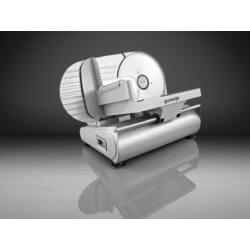 Gorenje R506E Szeletelőgép, fém ház, 19 cm-es rozsdamentes acél kés, 150 W