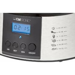 Clatronic DG3547 ételpároló, 3 szintes, 700-800W