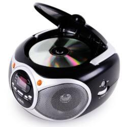 AEG SR4351 hordozható cd-s rádió , LED kijelző, audió bemenet