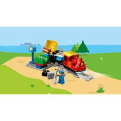 LEGO Duplo Gőzmozdonyos vonatkészlet