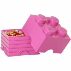 LEGO Storeage Brick 4 - Pink (40031739) tároló blokk