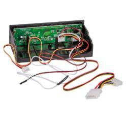 Akyga LCD 5.25'' panel for ATX case AK-CA-25