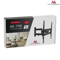 Maclean MC-711N Adjustable Wall Mounted TV bracket For Curved And Flat Screens