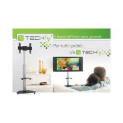 Techly TV LCD/LED/Plazma hordozható állvány 37''-70'' VESA, pivot, állítható