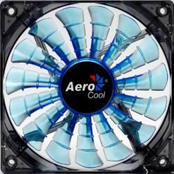 AEROCOOL SHARK BLUE EDITION ventilátor 120x120x25mm