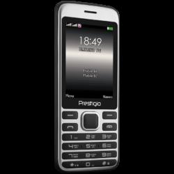 Prestigio Grace A1, 2.8'' (240*320) display, Dual SIM, MT6261D, GSM 900/1800, 32MB DDR, 32MB Flash, micro SD cards support up to 32GB, 0.3MP rear camera, Bluetooth, FM, 950mAh battery, EN keyboard, color/Black