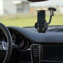 Whitenergy Univerzális autós tartó GSM / PDA / GPS,üveg