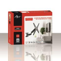 ART AR-84G LCD/LED TV tartó 23-55'' 35kg dönthető/fordítható rugós