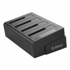 ORICO 2.5 & 3.5 inch SATA2.0 USB3.0 1 to 3 Clone External Hard Drive Dock - Black (6648US3-C-V1)