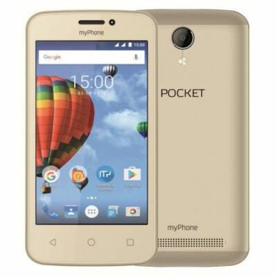 "myPhone Pocket 4"" 3G 4GB Dual SIM arany okostelefon"