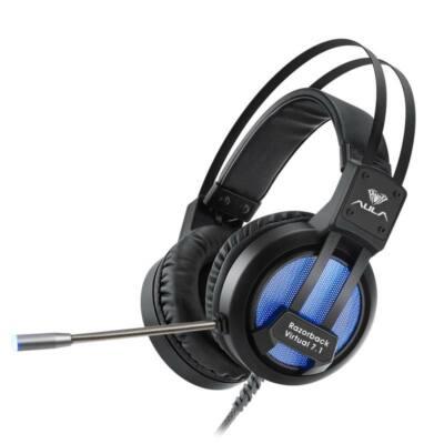 Aula Razorback 7.1 Bass rezgő gamer USB headset