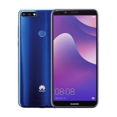 """Huawei Y7 20185,99"""" LTE 32GB Dual SIM kék okostelefon"""
