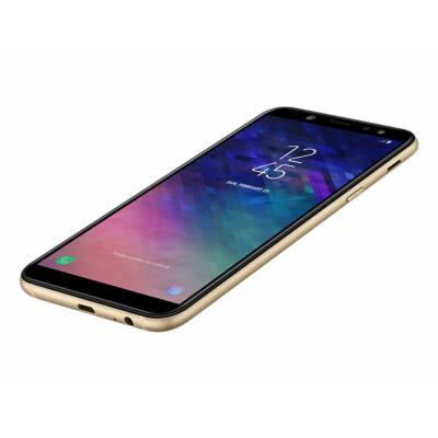 """Samsung SM-A600FN Galaxy A6 5,6"""" LTE 32GB Dual SIM arany okostelefon"""
