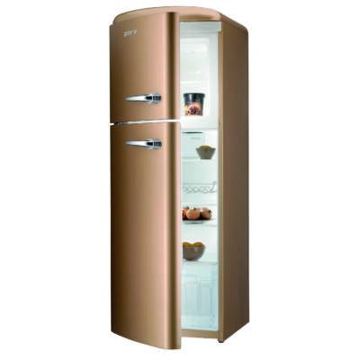 Gorenje RF60309OCOL Old Timer Hűtőszekrény - 229/65 liter, A++, gyorshűtés és -fagyasztás funkciók