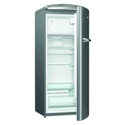 Gorenje ORB152X Egyajtós OT hűtőszekrény - 229/25 liter, A++, FreshZone frissen tartó rekesz