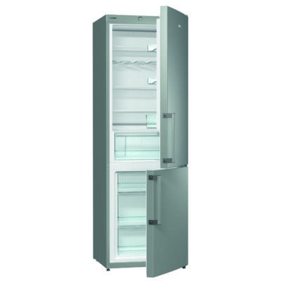 Gorenje RK6192AX  Kombinált Hűtőszekrény - 229/95 liter, A++, palacktartó rács