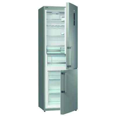 Gorenje RK6193LX Kombinált Hűtőszekrény - 229/95 liter, A+++, nyitott ajtó hangjelzés