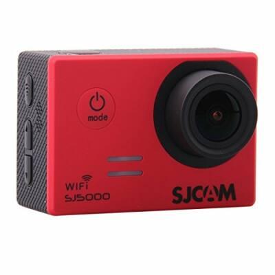 SJCAM SJ5000 WIFI sportkamera - eredeti gyártói modell - vörös