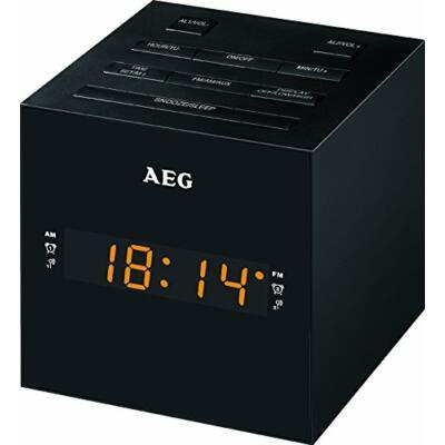 AEG MRC4150 órás rádió, USB, aux-in, 20 tárhely