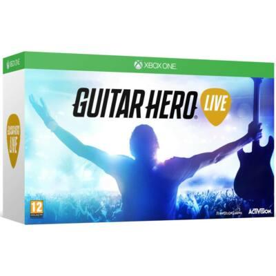 Activision Guitar Hero Live Guitar Bundle (Xbox One) Játékprogram