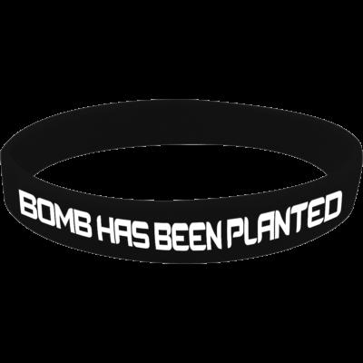 Bomb has been planted szilikon karkötő