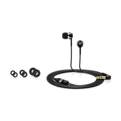 Sennheiser CX 1.00 Black Stereo fülhallgató - fekete mély basszus füldugó készlettel
