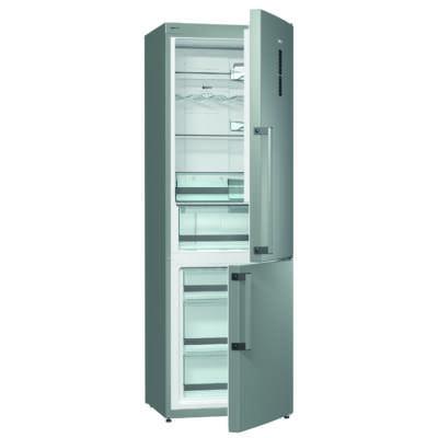 Gorenje NRK6193TX Kombinált Hűtőszekrény - 222/80 liter, A+++, NO-FROST