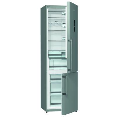 Gorenje NRK6202TX Kombinált Hűtőszekrény - 254/85 liter, A++, NO-FROST