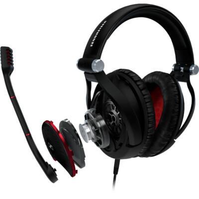 Sennheiser  G4ME ONE BLACK Stereo Gamer fejhallgató mikrofonnal fekete  multiplatform